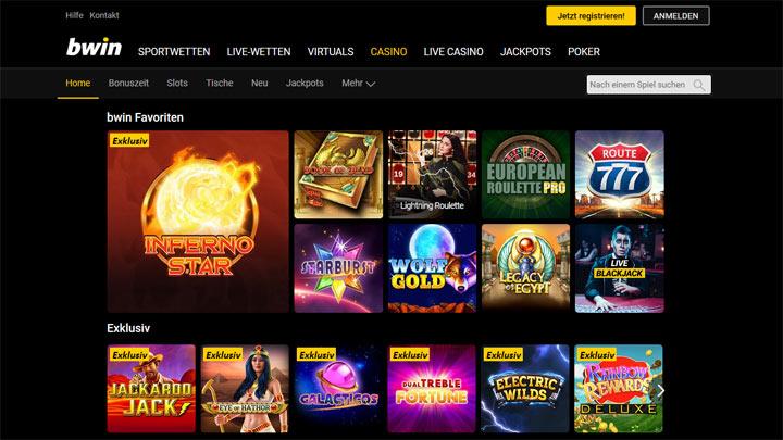 bwin Casino Vorschau