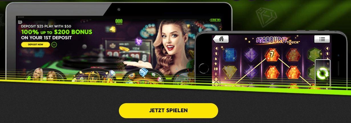 888 Casino ohne Download
