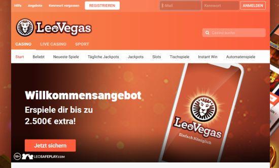 Leo Vegas Casino Vorschau