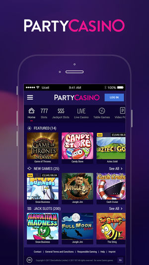 Party Casino Mobile